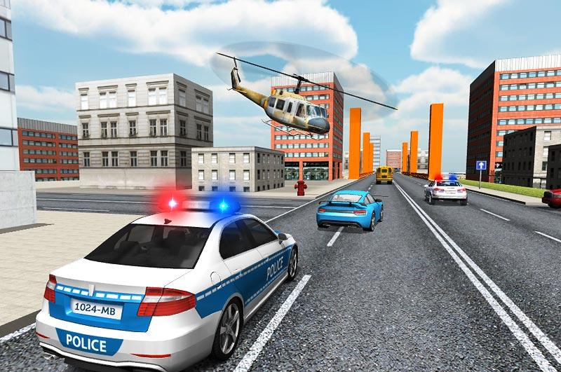 Police Car Driver